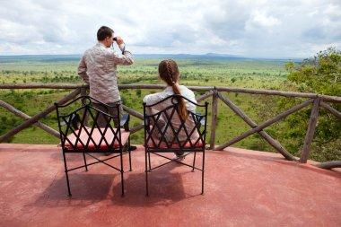 Safari vacation