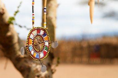 Masai traditional jewelry