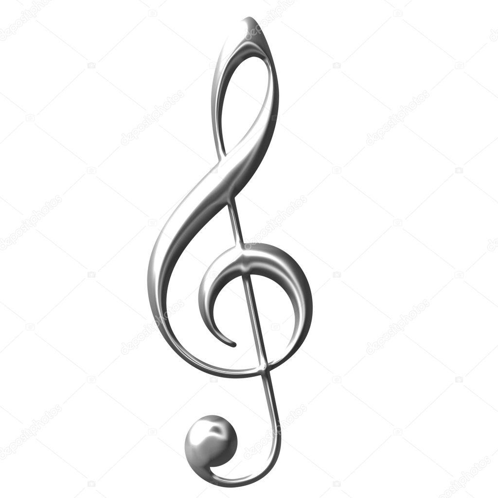 Картинку скачать скрипичный ключ