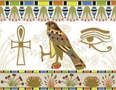 egyptské vzory, hranice a symboly