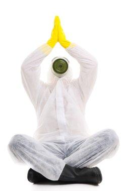 Yoga stock vector