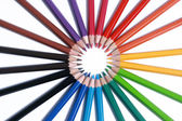 Sortiment barevných tužek s shado