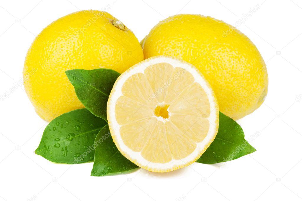 Fresh juicy lemons