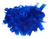 Fényképek kék festék stroke