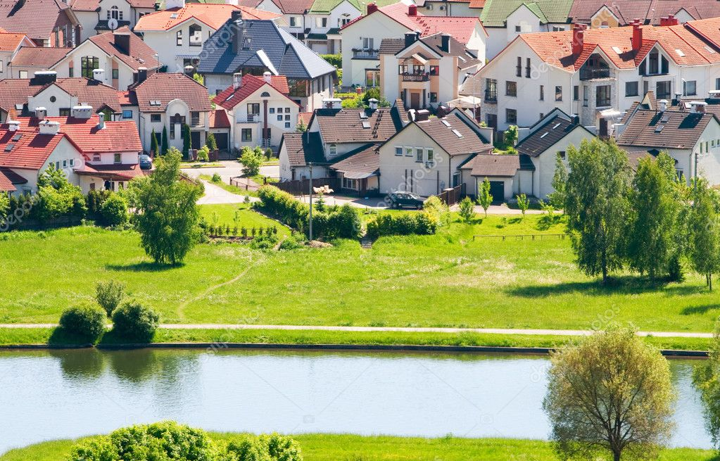Nice private cottages beside the river