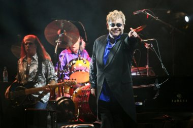 Sir Elton John live concert in Minsk, Belarus on June, 2010