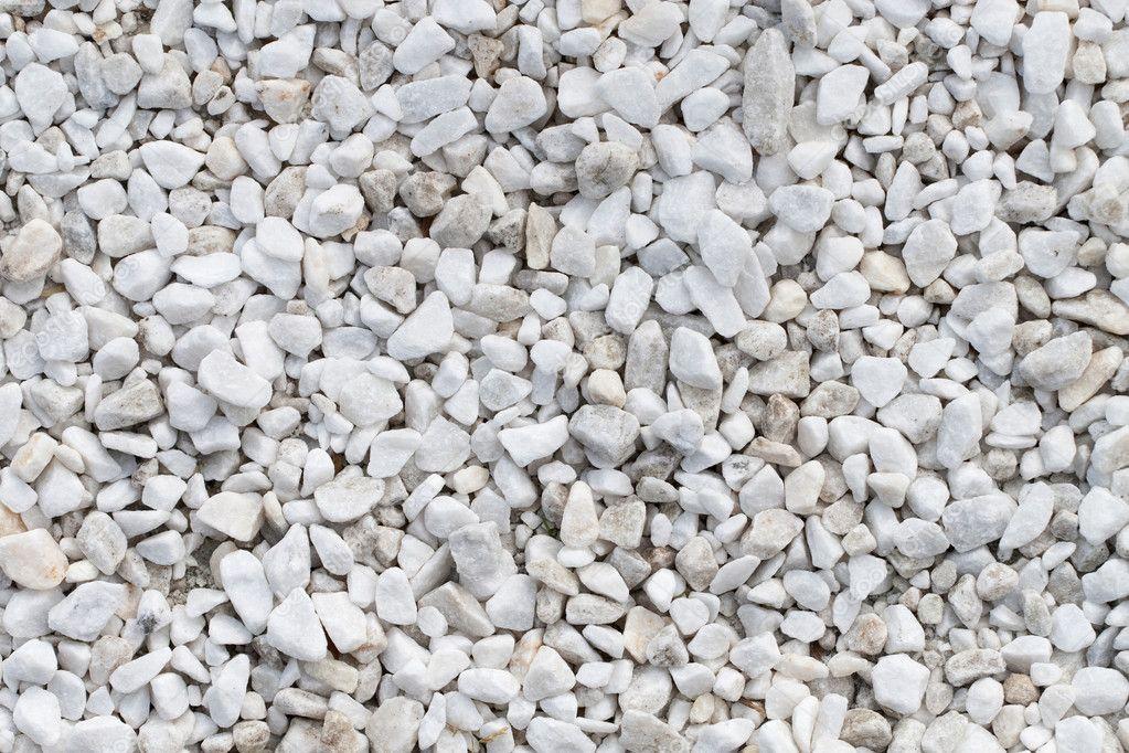 White stones texture