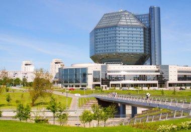 National Library building in Minsk, Belarus