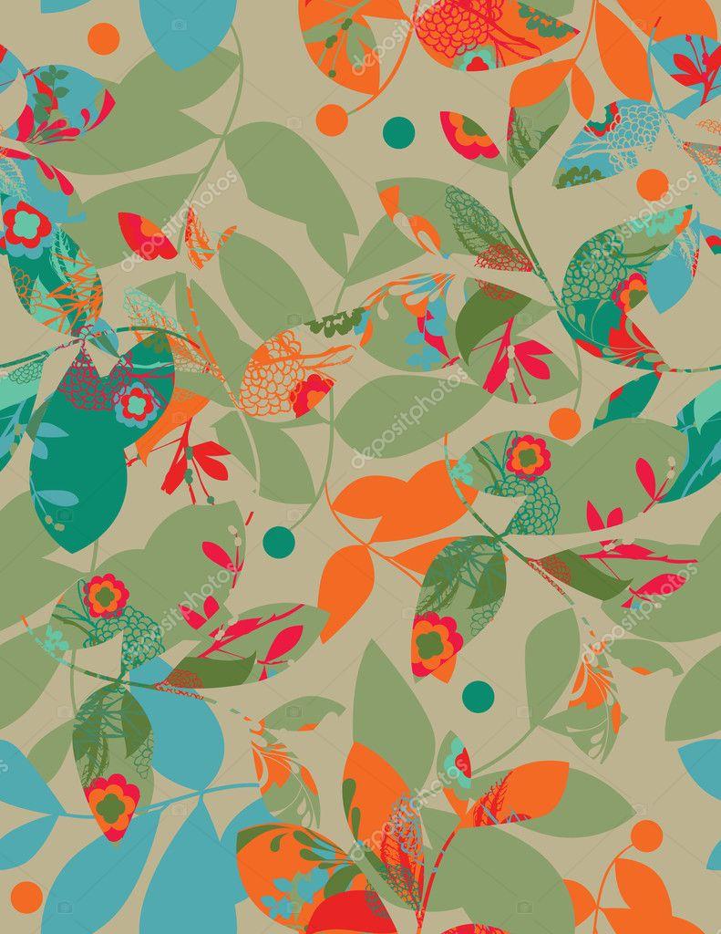 Hawaiian Curtains U2014 Stock Vector #3049894