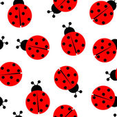 Fotografie Ladybug seamless pattern