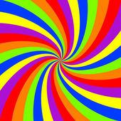Regenbogen Windung Muster