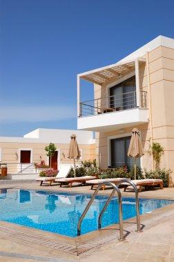Swimming pool at luxury villa