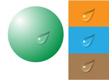 Universal drop (vector)