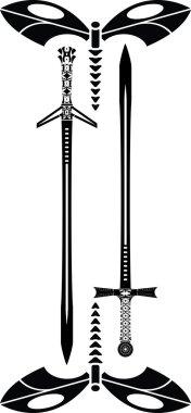 Dragonfly swords