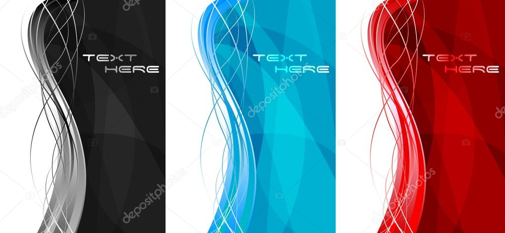 Abstract vertical banners — Stock Vector © saicle #3266542