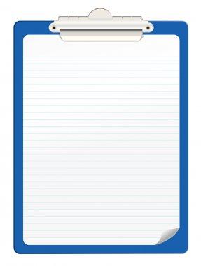 Clipboard stock vector