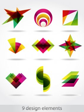 Abstract design elements.