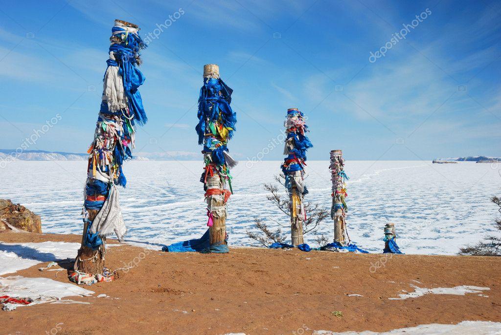 Pagan holy poles