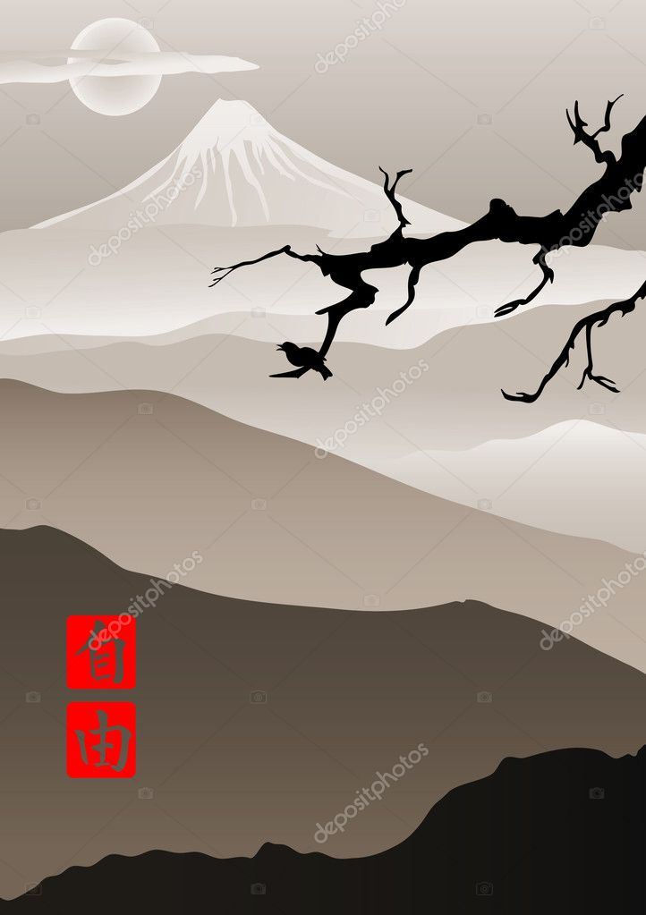 Image in Japanese style