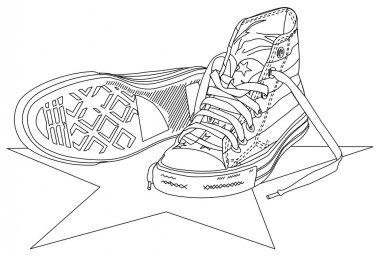 Sneakers_lineart