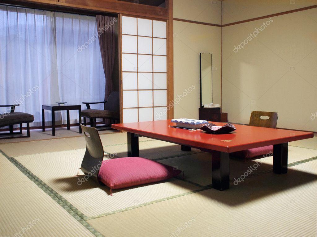 chambre de style japonais h tel photographie ivylingpy 3078868. Black Bedroom Furniture Sets. Home Design Ideas