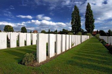 War Graves at Tyne Cot