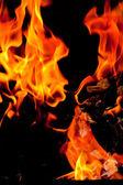 tűz láng emelése