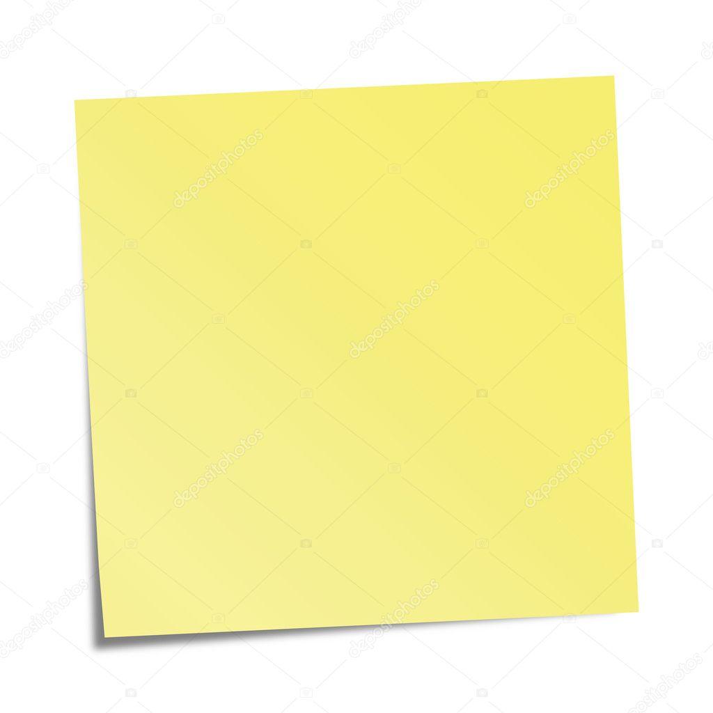 Free vector graphic sticky note note info paper free image on - Yellow Sticky Note Stock Vector 3147020