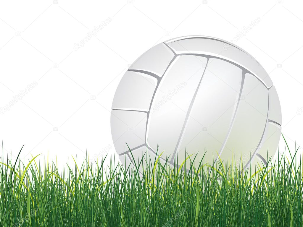 Volleybal bal � Stockillustratie