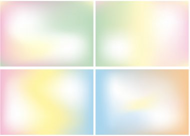 Pastel color mix, vector background