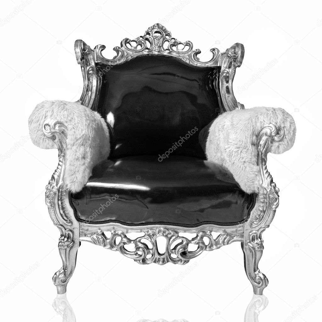 Antique chair isolated on white — Photo by artjazz - Antique Chair — Stock Photo © Artjazz #3379821