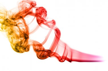 Colorful Magic Abstract fume shapes
