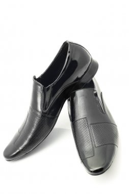Pair of Classic Men's patent-leather shoes