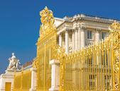 Fotografie Golden gate and Palace facade in Versailles