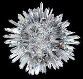 Fényképek kristály gömb akut oszlopokkal