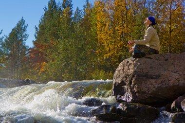 Meditation at the Falls