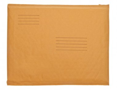 Real Business Envelope with Lines for Shipping Address