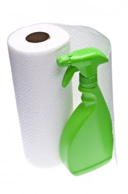 Cleaning with Paper Towels
