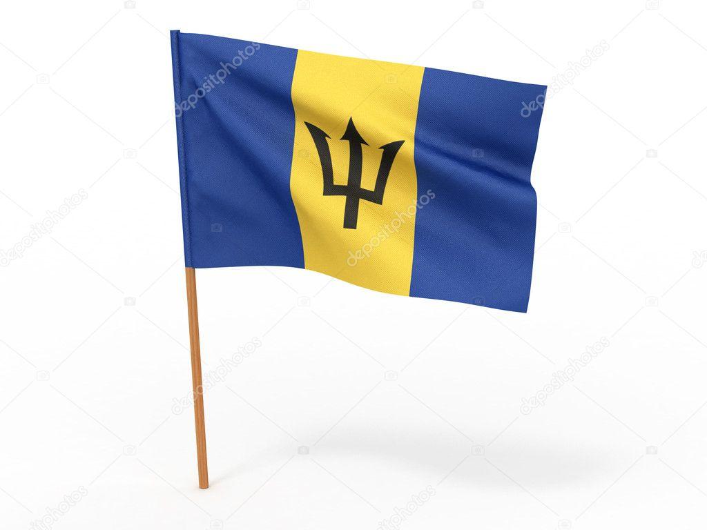 Фотообои Флаг барбадоса