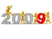 Nový rok. 2009