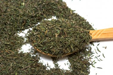 Spice of thyme isolated
