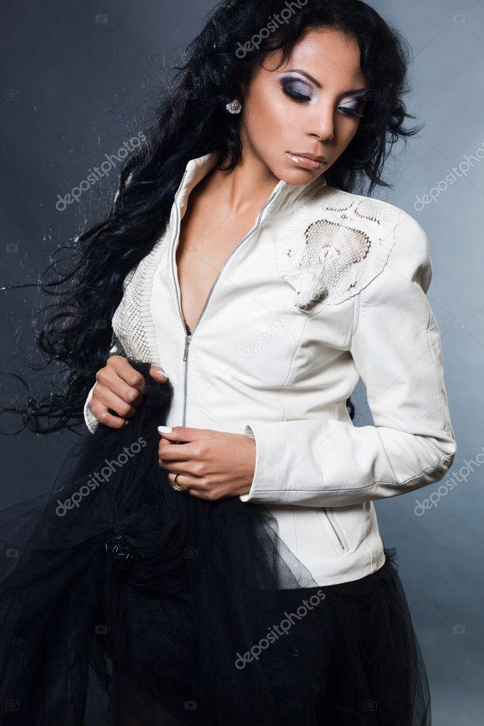 Sexy modne svart