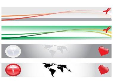 Web 2.0 style medical banner