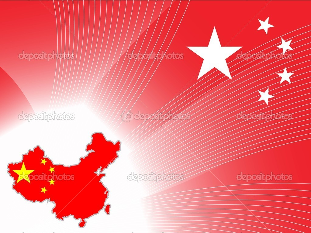 Background with china map Stock Vector alliesinteract 2917970