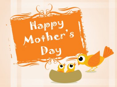Beutiful pattern mother day background clip art vector