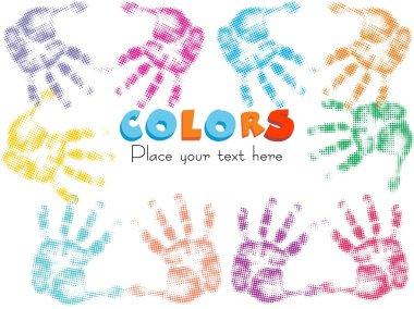 Multicolor fingerprints