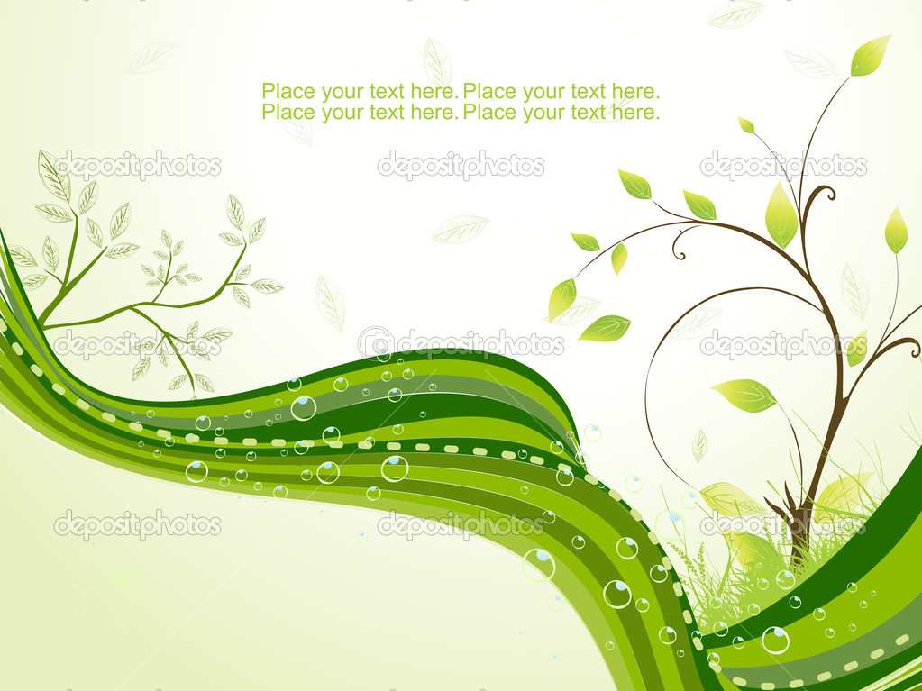 Nature theme background