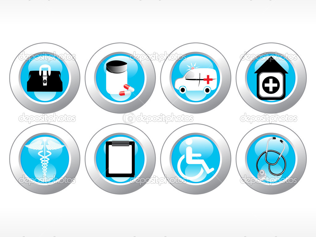 Vector medical icon series