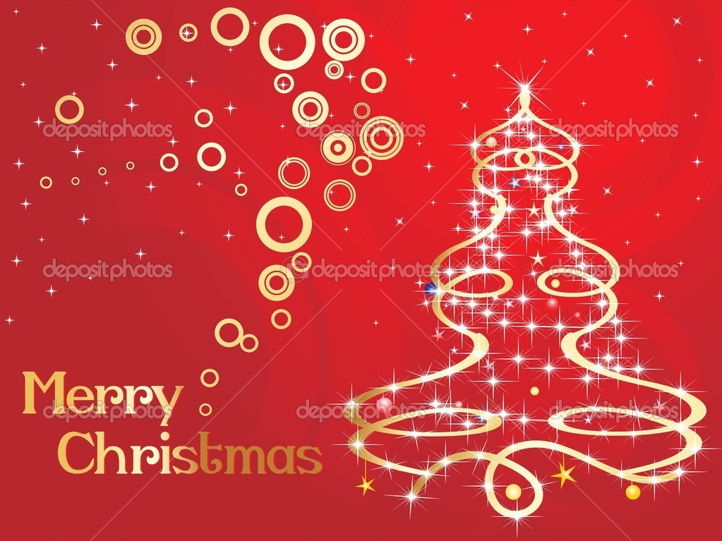 Christmas Day Celebration.Background For Christmas Day Celebration Stock Vector