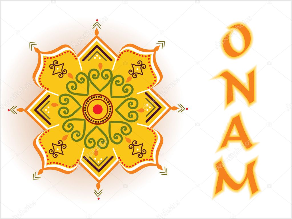 Illustration for onam